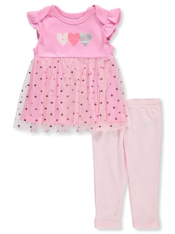 Bon Bebe Baby Girls' 2-Piece Leggings Set Outfit - CookiesKids.com
