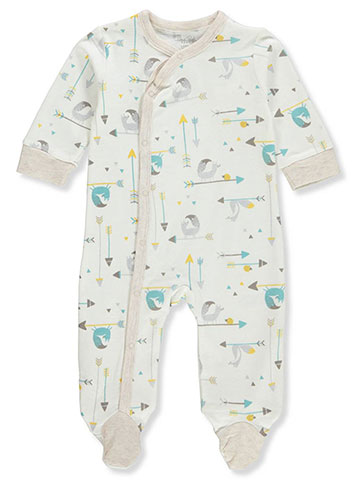Rene Rofe Unisex Baby Footed Coverall - CookiesKids.com