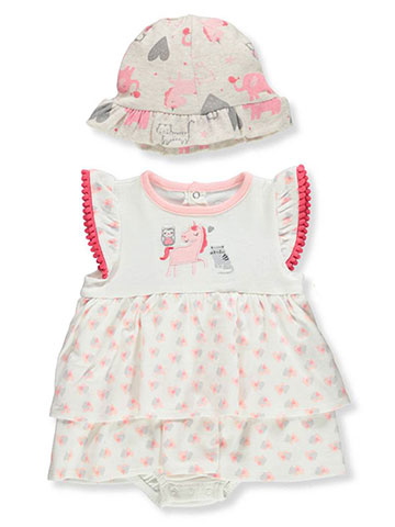Rene Rofe Baby Girls' 2-Piece Layette Set - CookiesKids.com