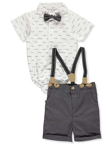 Rene Rofe Baby Boys' 4-Piece Shorts Set Outfit - CookiesKids.com