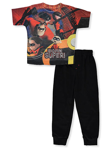 The Incredibles Boys' 2-Piece Pants Set Outfit - CookiesKids.com