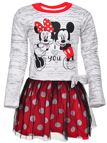 Disney Minnie Mouse Girls' Dress - CookiesKids.com