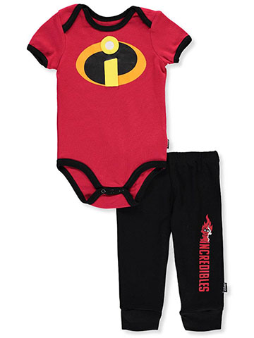Disney Incredibles 2 Baby Boys' 2-Piece Pants Set Outfit - CookiesKids.com