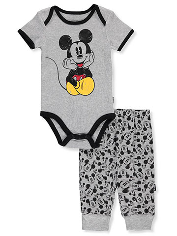 Disney Mickey Mouse Baby Boys' 2-Piece Pants Set Outfit - CookiesKids.com