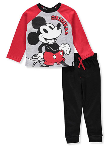 Disney Mickey Mouse Boys' 2-Piece Pants Set Outfit - CookiesKids.com