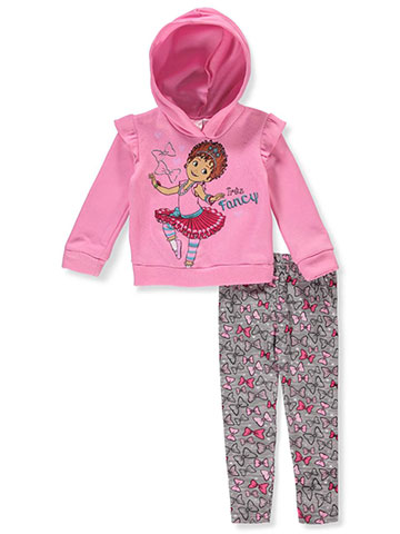 Disney Fancy Nancy Girls' 2-Piece Leggings Set Outfit - CookiesKids.com