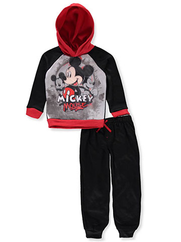 Mickey and the Roadster Racers Boys' 2-Piece Pants Set Outfit - CookiesKids.com