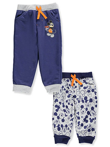 Mickey Mouse and the Roadster Racers Baby Boys' 2-Pack Fleece Joggers - CookiesKids.com