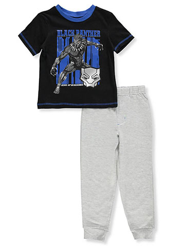 Black Panther Boys' 2-Piece Pants Set Outfit - CookiesKids.com