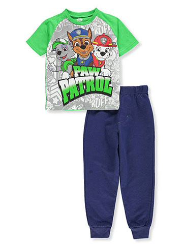 Paw Patrol Boys' 2-Piece Pants Set Outfit - CookiesKids.com