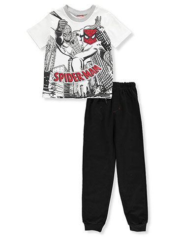 Spider-Man Boys' 2-Piece Pants Set Outfit - CookiesKids.com
