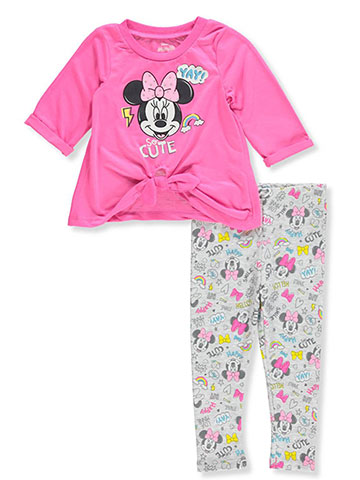 Disney Minnie Mouse Baby Girls' 2-Piece Leggings Set Outfit - CookiesKids.com