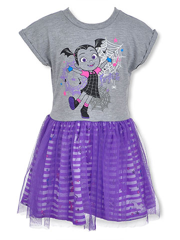 Disney Vampirina Girls' Dress - CookiesKids.com