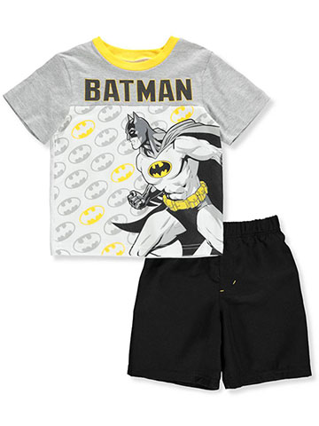 Batman Boys' 2-Piece Shorts Set Outfit - CookiesKids.com