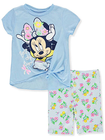Disney Minnie Mouse 2-Piece Shorts Set Outfit - CookiesKids.com
