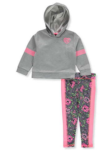 Body Glove Baby Girls' 2-Piece Leggings Set Outfit - CookiesKids.com