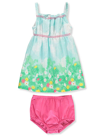 a30d3f54029 Famous Brand Baby Girls  Dress with Diaper Cover - CookiesKids.com