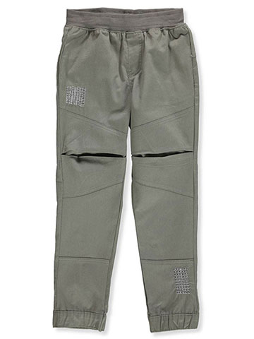 Blac Label Boys' Twill Joggers - CookiesKids.com