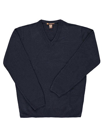 Harriton Men's V-Neck Sweater - CookiesKids.com