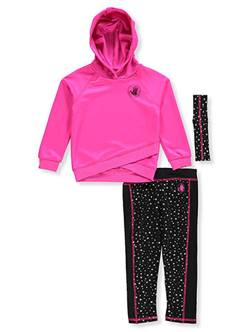 Body Glove Girls' 2-Piece Leggings Set Outfit with Headband - CookiesKids.com