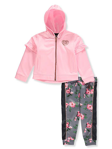 Body Glove Girls' 2-Piece Leggings Set Outfit - CookiesKids.com