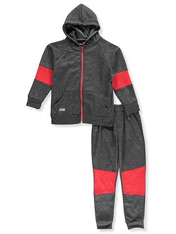 Beverly Hills Polo Club Boys' 2-Piece Sweatsuit Pants Set - CookiesKids.com