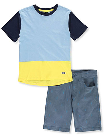 acc3ee940 Beverly Hills Polo Club Boys' 2-Piece Shorts Set Outfit - CookiesKids.com