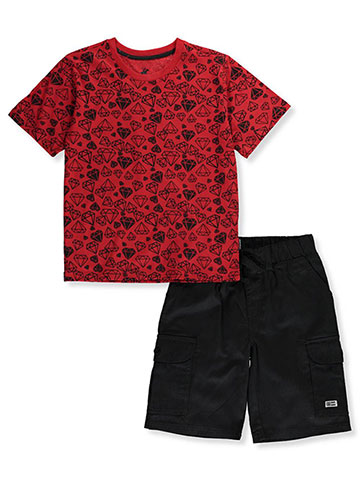 d47d20320f Beverly Hills Polo Club Boys' 2-Piece Shorts Set Outfit - CookiesKids.com