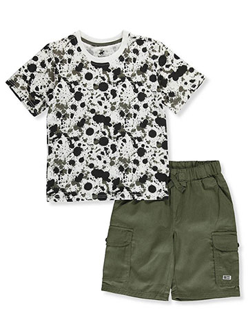 2beef86e Beverly Hills Polo Club Boys' 2-Piece Shorts Set Outfit - CookiesKids.com