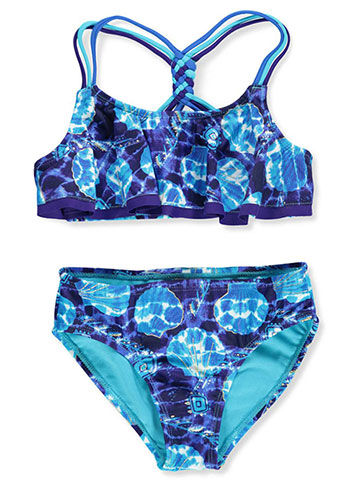 Breaking Waves Girls' 2-Piece Bikini - CookiesKids.com