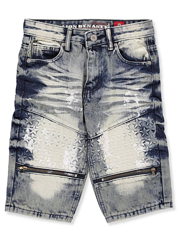 Lion Dynasty Boys' Denim Shorts - CookiesKids.com