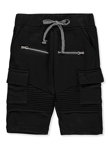 Sacred Crown Boys' Fleece Cargo Shorts - CookiesKids.com
