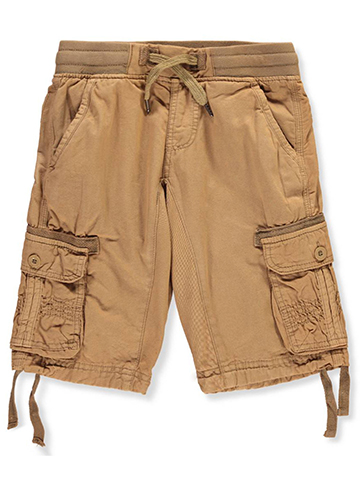 Monarchy Boys' Twill Cargo Shorts - CookiesKids.com