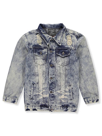 Lion Dynasty Boys' Denim Jacket - CookiesKids.com