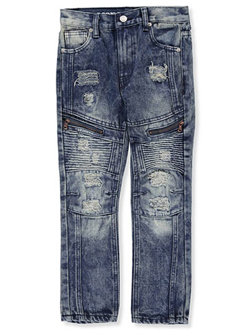 Lion Dynasty Boys' Slim Fit Jeans - CookiesKids.com