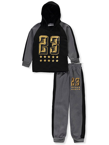 Victory League Boys' 2-Piece Sweatsuit Pants Set - CookiesKids.com