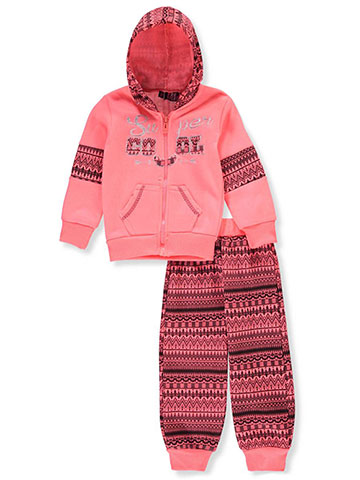 Coney Island Baby Girls' 2-Piece Sweatsuit Pants Set - CookiesKids.com