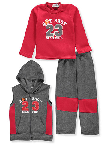 Coney Island Baby Boys' 3-Piece Pants Set Outfit - CookiesKids.com