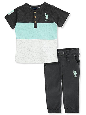 Victory League Baby Boys' 3-Piece Shorts Set Outfit - CookiesKids.com