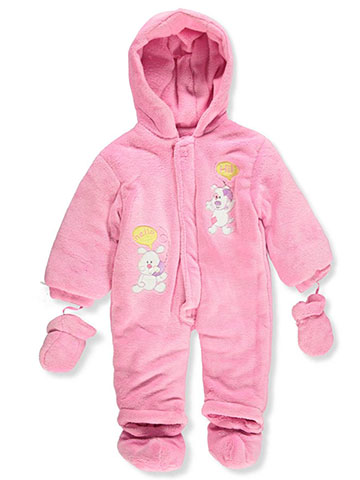 Coney Isle Baby Baby Girls' Hooded Pram Suit with Accessories - CookiesKids.com