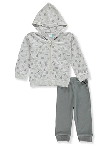 Euro Baby Baby Boys' 2-Piece Sweatsuit Pants Set - CookiesKids.com