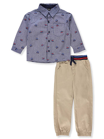 Little Rebels Boys' 2-Piece Pants Set Outfit - CookiesKids.com