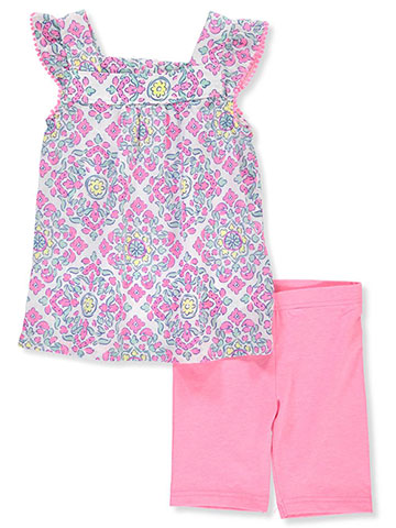 Carter's Girls' 2-Piece Short Set Outfit - CookiesKids.com