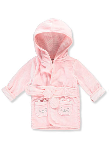 Carter's Baby Girls' Hooded Bathrobe - CookiesKids.com