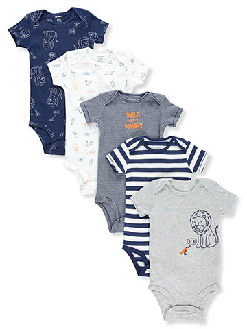 Carter's Baby Boys' 5-Pack Bodysuits - CookiesKids.com