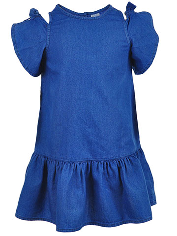Carter's Girls' Cold Shoulder Dress - CookiesKids.com