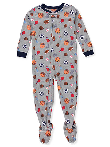 Carter's Boys' 1-Piece Footed Pajamas - CookiesKids.com