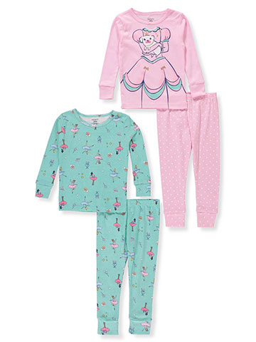 Carter's Baby Girls' 4-Piece Mix-and-Match Sleep Set - CookiesKids.com