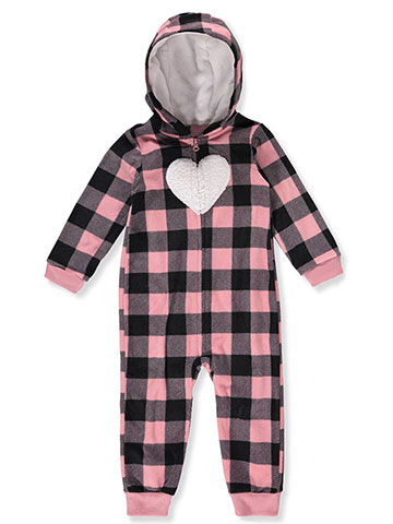 Carter's Baby Girls' Hooded Pram Suit - CookiesKids.com
