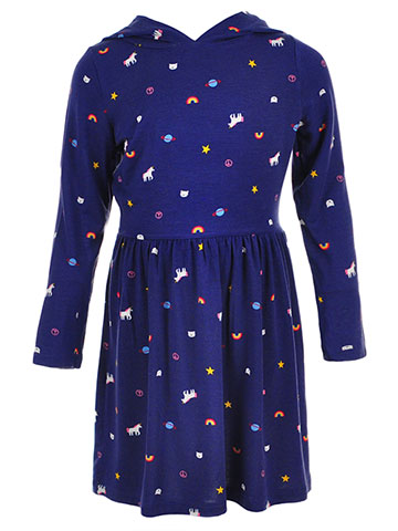 Carter's Girls' Hooded Dress - CookiesKids.com